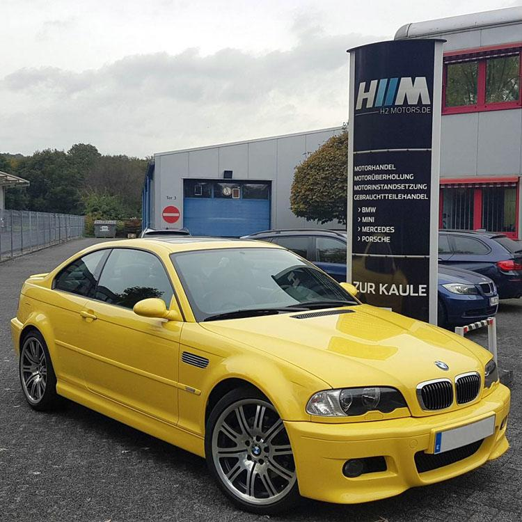 BMW E46 M3 Motorrevision