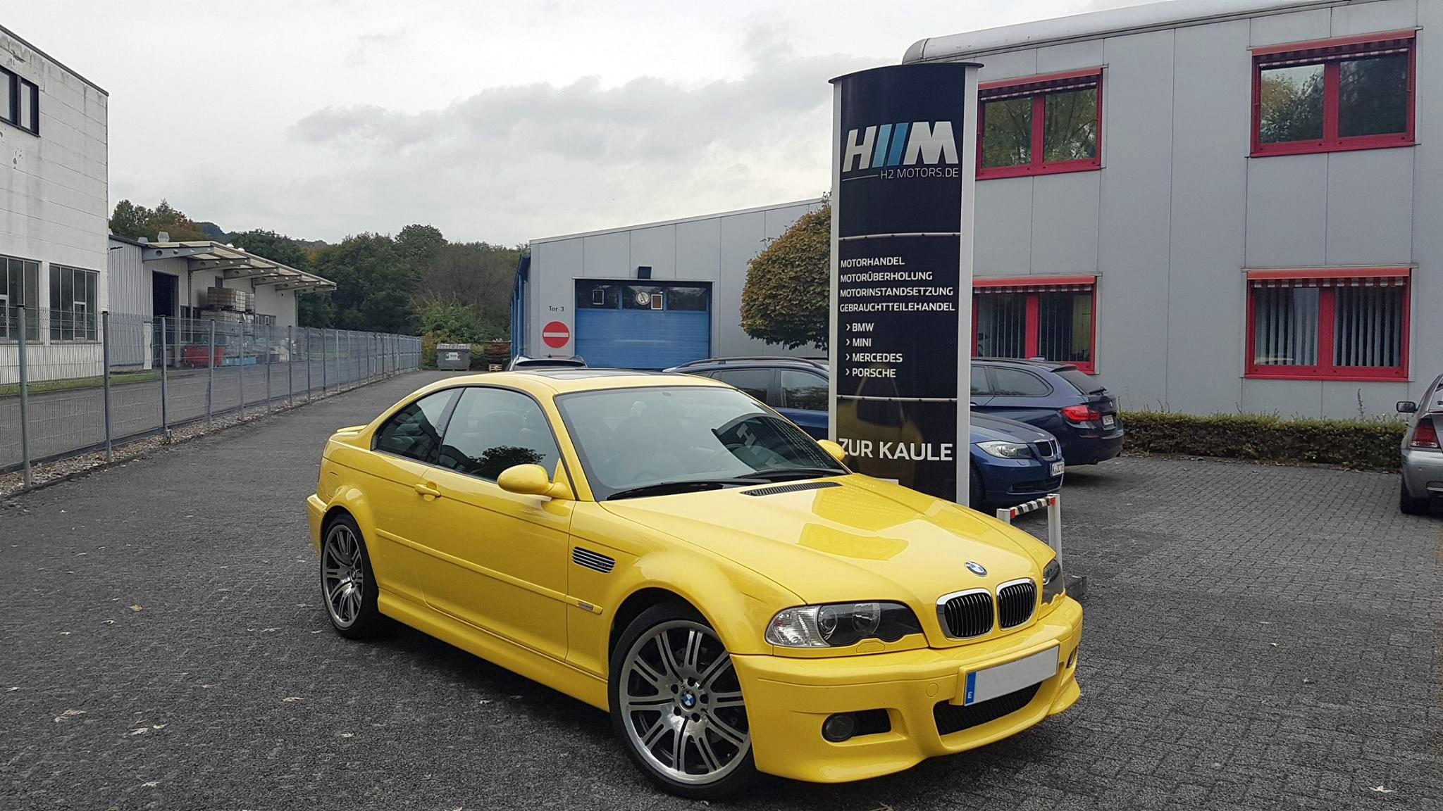 Motorrevision beim BMW E46 M3