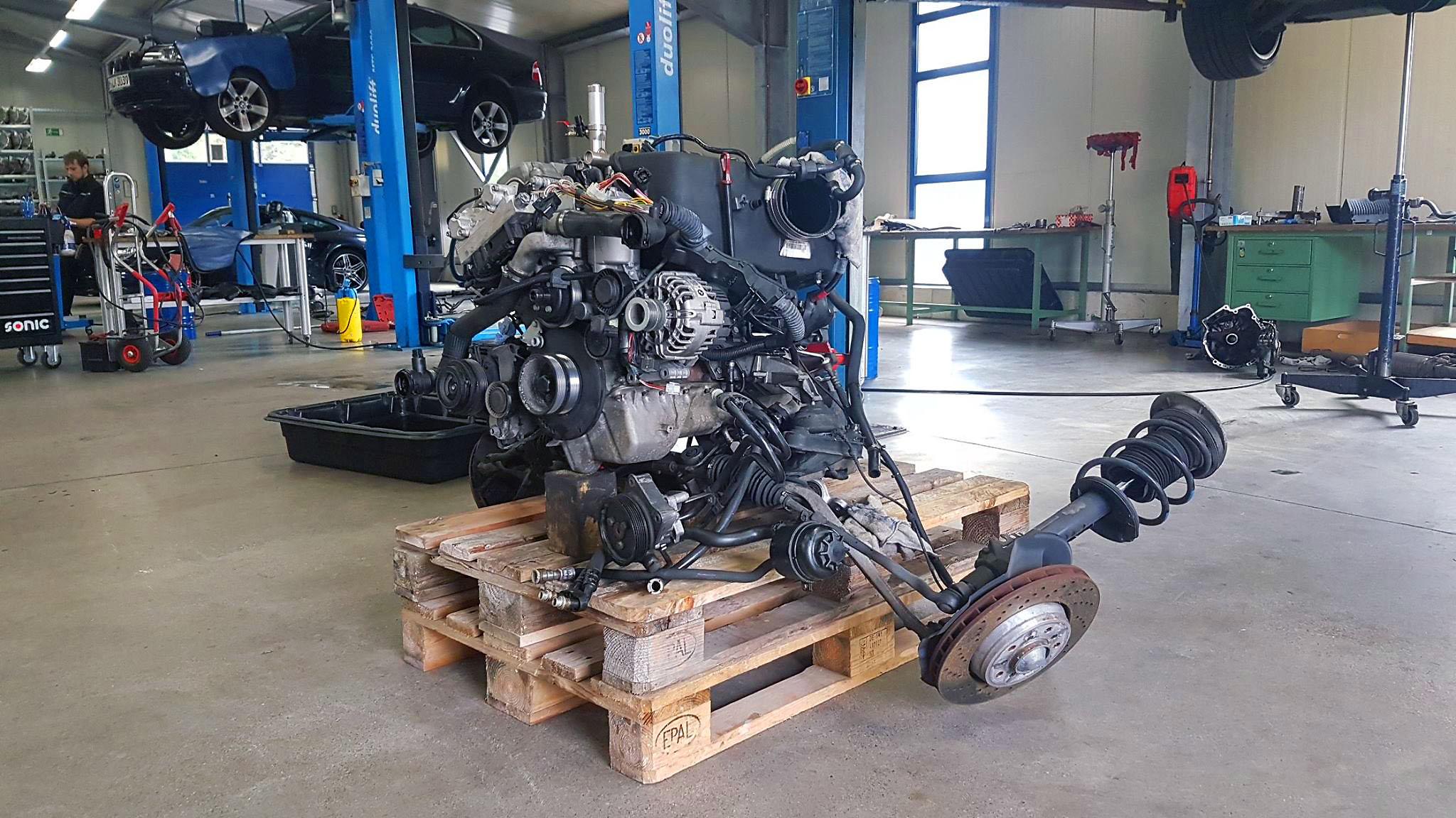 S54 Motor vor dem Einbau