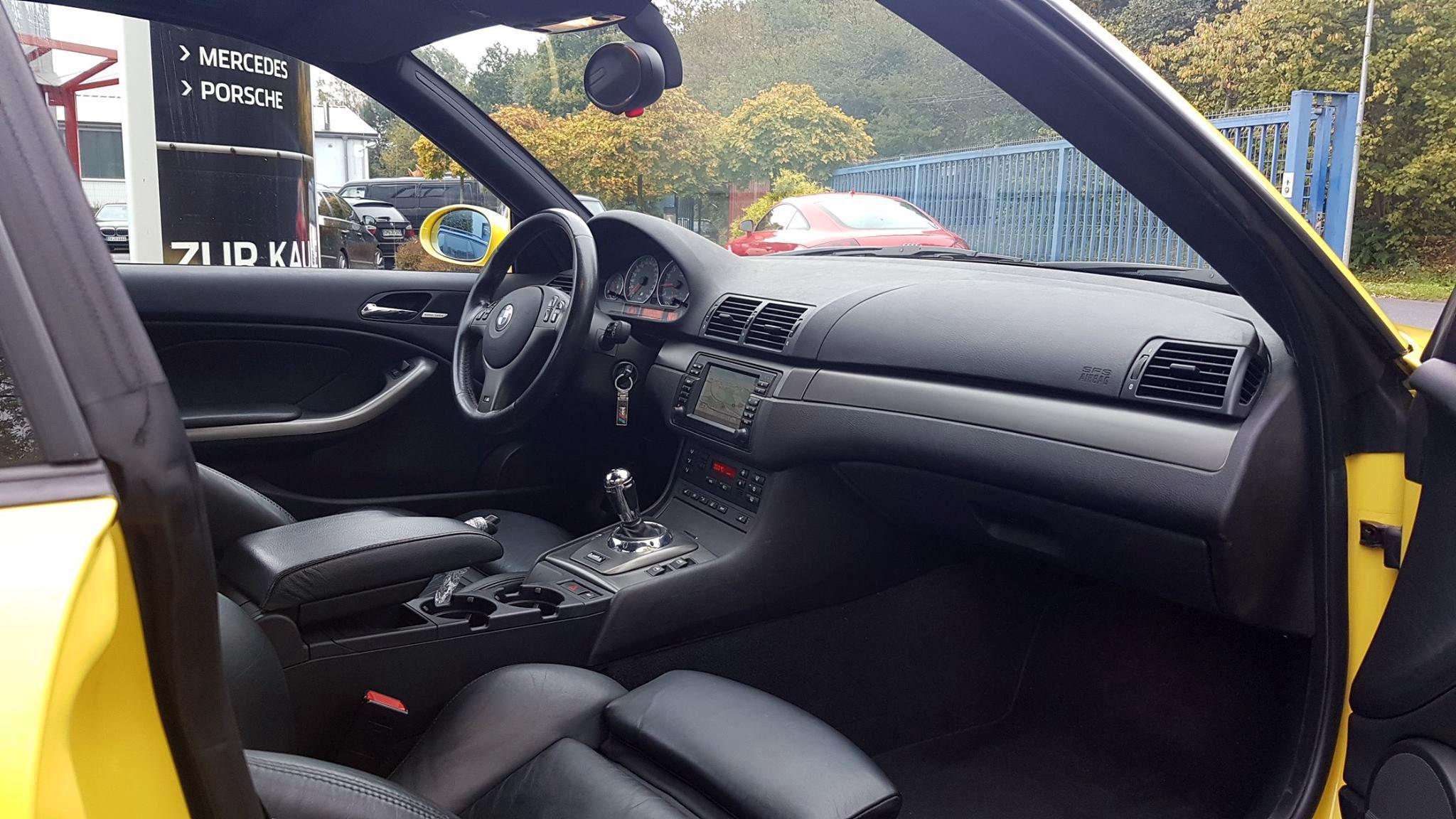 BMW E46 M3 bis auf den Motor in exzellentem Zustand