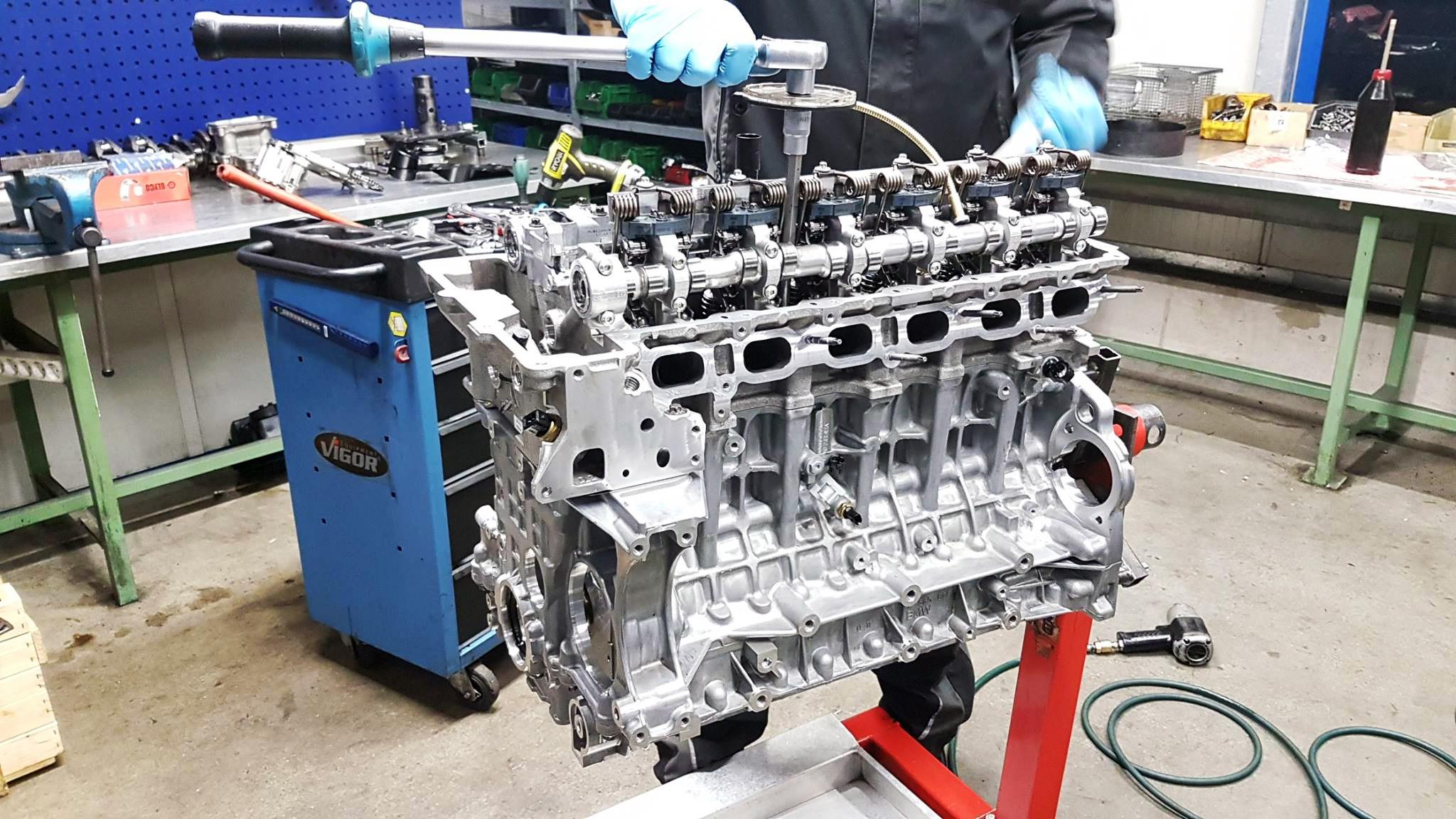 Austauschmotor für einen BMW E70 X5