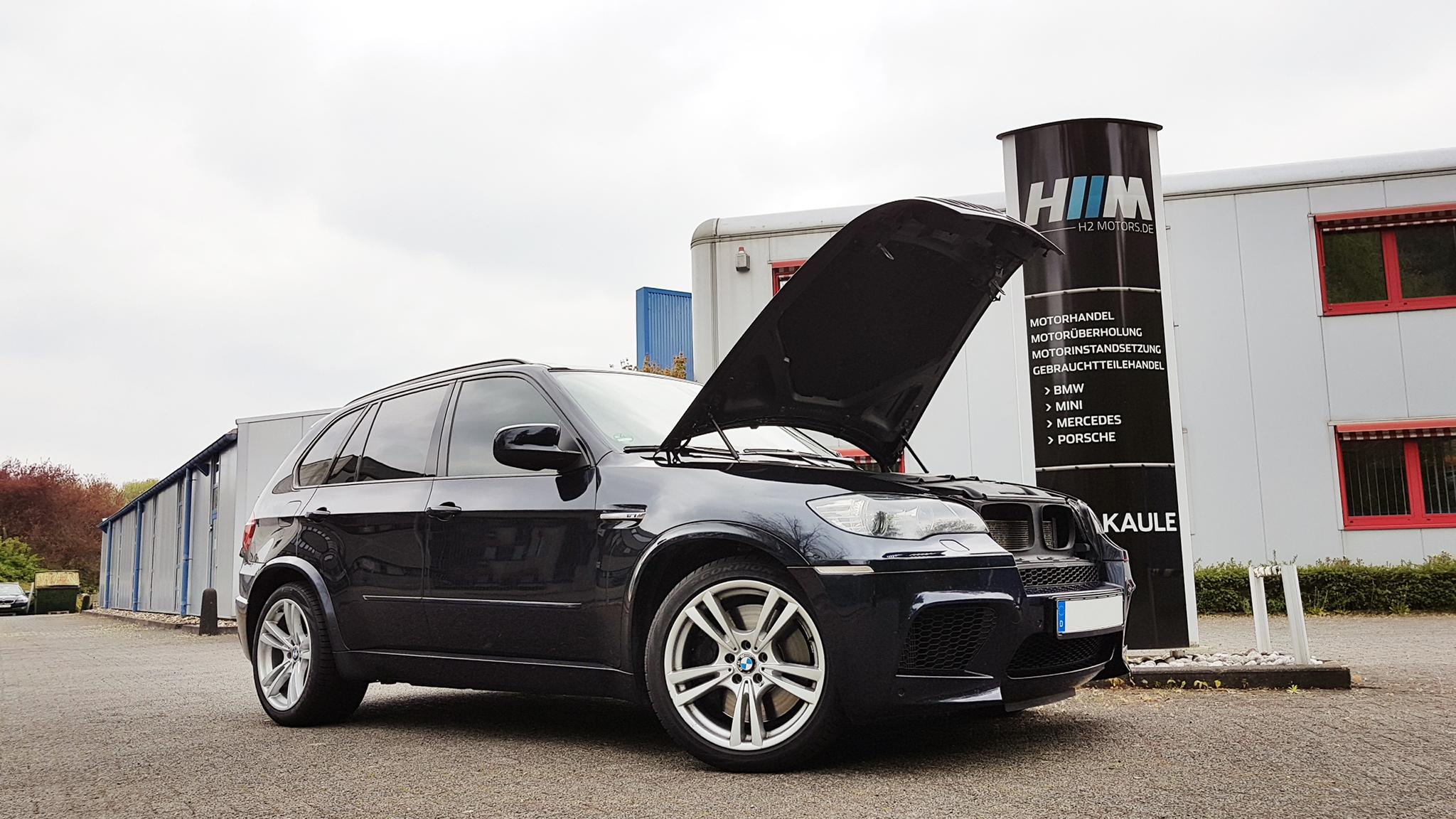 Austauschmotor für einen BMW E70 X5 M